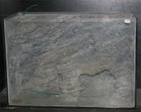 Akvárium 65 l-es beton háttérrel